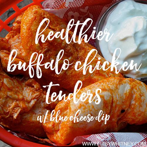 Healthier Buffalo Chicken Tenders