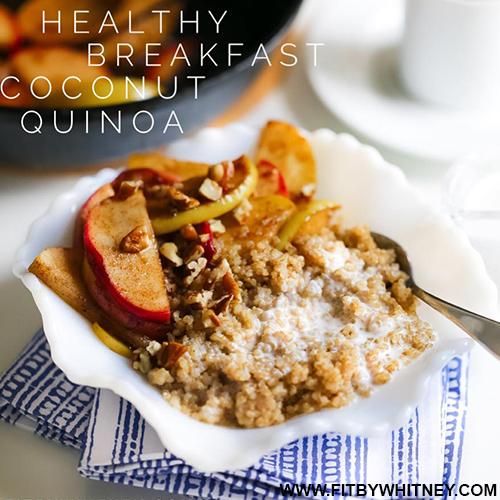Healthy Breakfast Coconut Quinoa Recipe