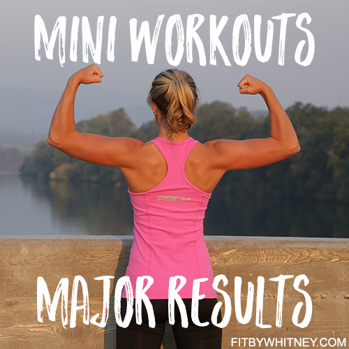 Mini Workouts - Major Results